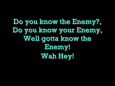 Green Day - Know Your Enemy (with Lyrics) video