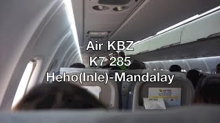 Air KBZ ATR 72-600 Flight Report: K7 285 Heho(Inle) to Mandalay