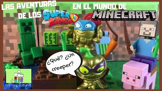 SuperZings en MINECRAFT world Episodio 1: Pumpking y Candy Strike se han perdido