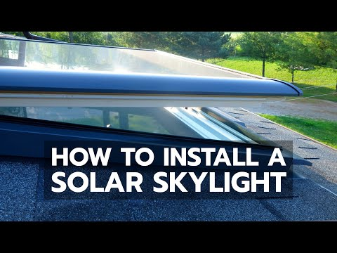 Velux sun tunnel diy install easy how to fit a solar for Velux sun tunnel installation instructions