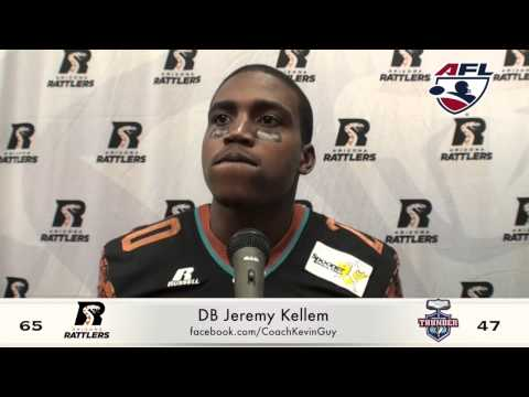 4-18-15, Arizona Rattlers Vs. Portland Thunder Post Game Davila, Kellem, Floyd