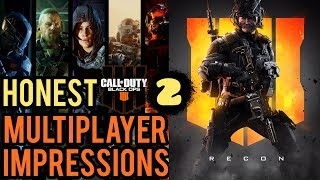 Call of Duty Black Ops 4 Multiplayer HONEST impressions