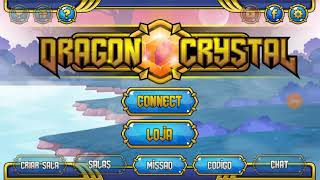 Dragon Crystal código de diamante amarelo e vermelho