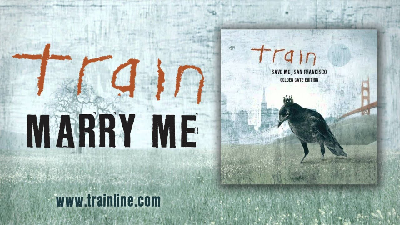 Marry me Train Sheet Music Free Marry me Sheet Music by