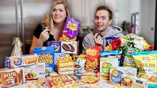 TASTING CRAZY DOLLAR STORE SNACKS