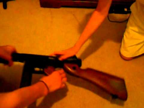 airsoft thompson m1a1 cybergun review
