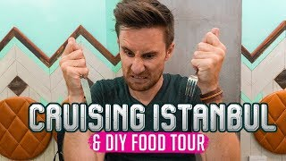 Cruise over the Bosporus & DIY FOOD TOUR | Explore ISTANBUL - PART 3!