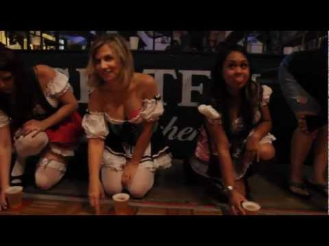 Oktoberfest 2012 | Great Womens Beer Drinking Competition | OldWorld | Girls