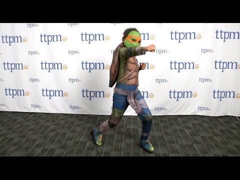 Teenage Mutant Ninja Turtles Movie Deluxe Michelangelo Child Costume from Rubie's Costume Co.