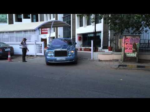 Rolls-Royce Phantom EWB @ Ahmedabad.
