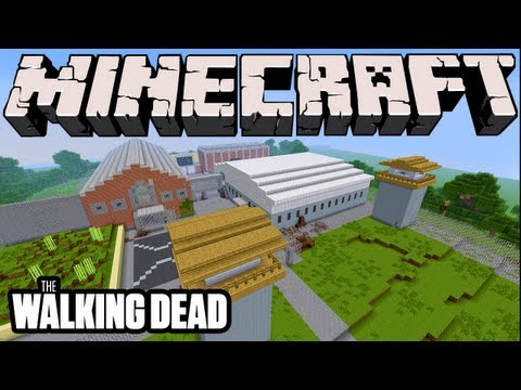 Minecraft The Walking Dead Prison