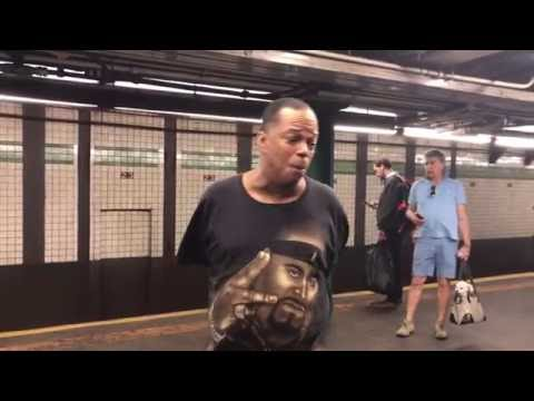 Subway Performer Mike Yung - Unchained Melody (23rd Street Viral Sensation)