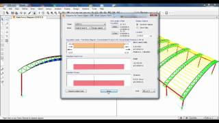 SAP2000-Modeling, Analysis and Design of Space Truss(Triangular Arch Truss) 02/02
