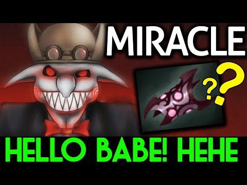 Miracle- Dota 2 [Timbersaw] Hello Babe! Rape Pub with Armlet