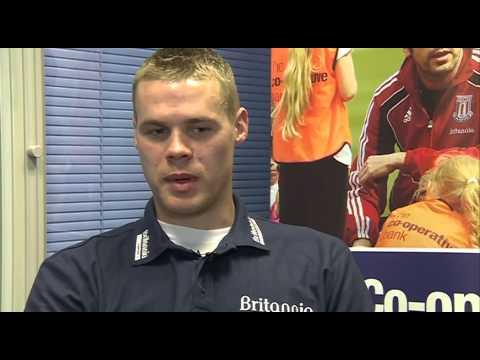 Exclusive Stoke City captain Ryan Shawcross quick fire Xmas quizz