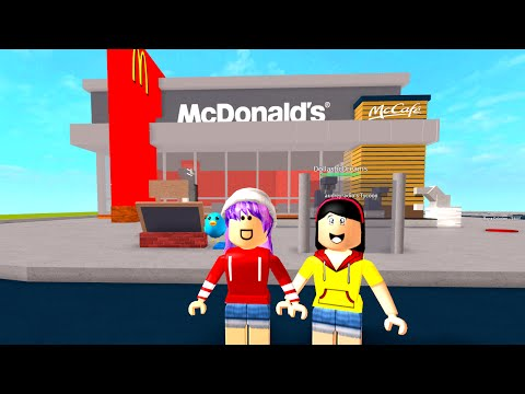 ROBLOX McDonald's TYCOON | RADIOJH GAMES & DOLLASTIC PLAYS