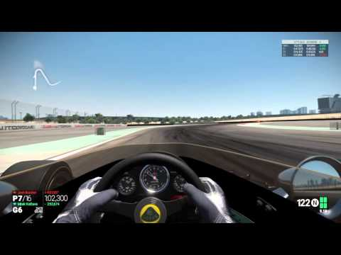 Project CARS Lotus 72D Dubai GP
