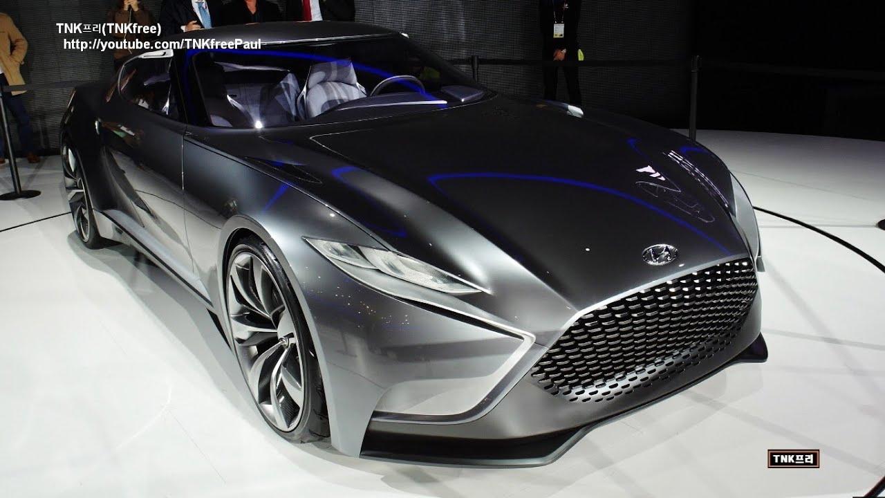 2014 Genesis Coupe >> Hyundai HND-9 Concept Car - 2013 Seoul Motor Show - YouTube