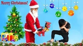 Món Quà Noel Khủng Long Bạo Chúa ♥ Min Min TV Minh Khoa