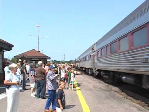 Portage Daily Register video: SP 4449 steam locomotive passes through Columbia County