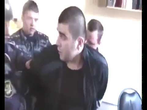 Снова безпредел российской милиции. Избиение беззащитного задержанного.