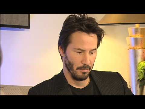 Keanu Reeves talks on the BBC