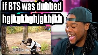 if run BTS was dubbed #2 | Reaction!!! (funny af)