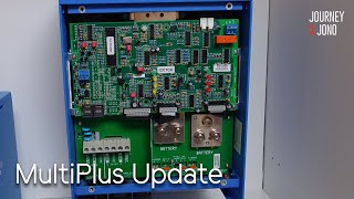 Victron MultiPlus Software Update & First Lithium Charge