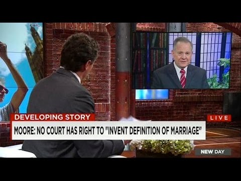 Epic Same-sex Marriage Debate, Cnn's Chris Cuomo Vs Roy Moore video