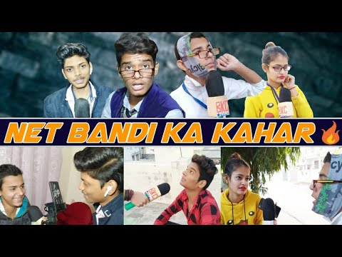 Net Bandi ka kahar || Funny Video || Group Of Crazy  Boys || Crazy Boys