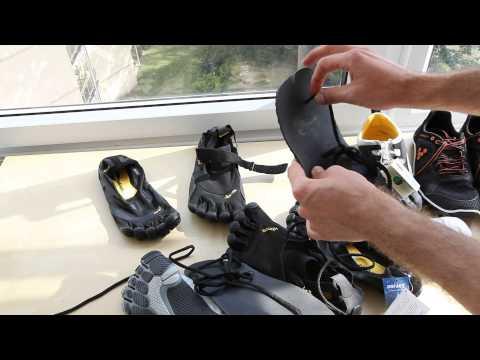 Barefoot shoe review - Fivefingers KSO. Bikila LS. EL-X- Vivobarefoot The one. Invisisble shoes