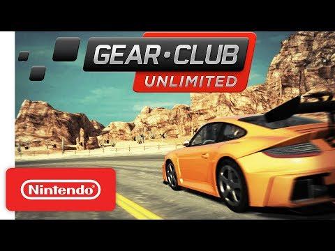 Gear.Club Unlimited Launch Trailer - Nintendo Switch