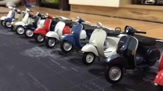 Mô hình xe Vespa scooter tỷ lệ 1:18 - Kho Đồ Chơi