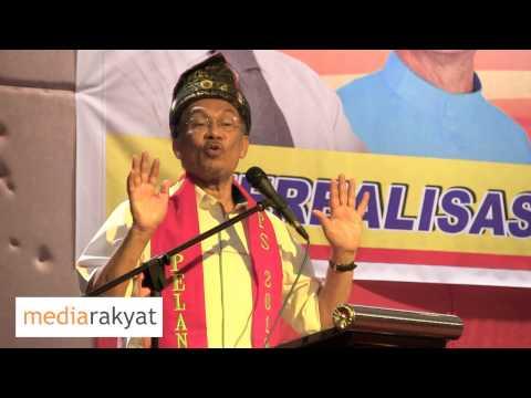 Anwar Ibrahim: Majlis Pelancaran Pertubuhan Pakatan Perubahan Sabah (PPPS)