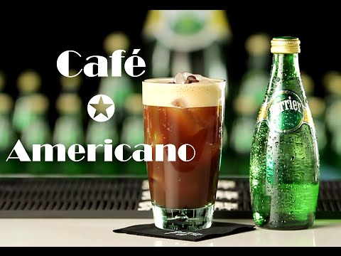 Como hacer un café americano - Recetas de Cócteles