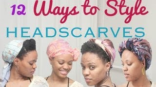 12 Ways to Style a Head Scarf