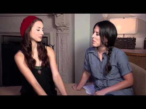 Troian Bellisario: Pretty Little Liars Set Visit Interview