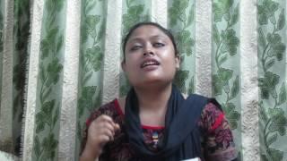Kothin tomake chara akdin cover by Sucharita Mitra