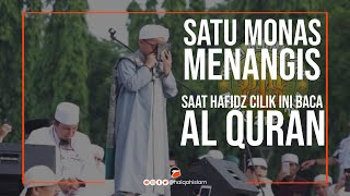 Satu Monas Nangis Saat Hafidz Cilik Baca Al Qur 39 An Di Reuni Akbar 212