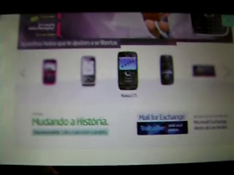 Nokia 5800 Web Navigation - Flash Player 10.1 (Skyfire)