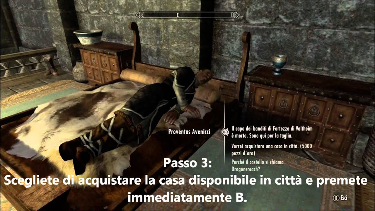 ... The Elder Scrolls V: Skyrim - Come ottenere una casa gratis - YouTube