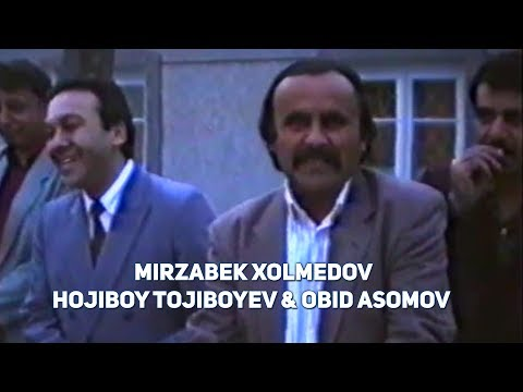 Mirzabek Xolmedov & Hojiboy Tojiboyev & Obid Asomov - Unutilmas damlar