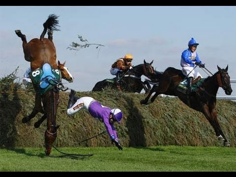 Horse Racing Accidents jockey returning from the dead.