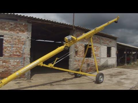 Зернопогрузчик самодельный