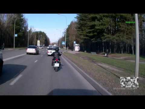 ДТП с мотоциклистом 18.10.2013