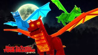 HOW TO TRAIN YOUR DRAGON - THE FAITH OF THE FIRE DRAGON #14 w/ Little Lizard