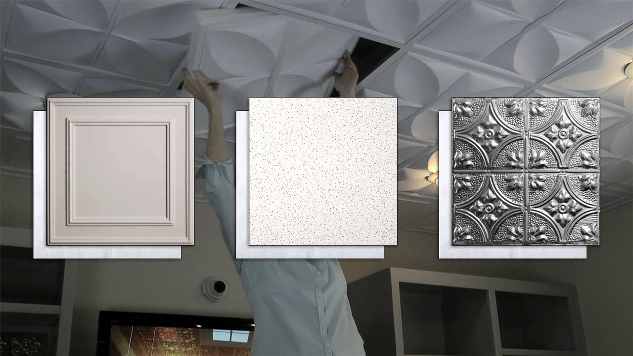 Sound proof ceiling tiles