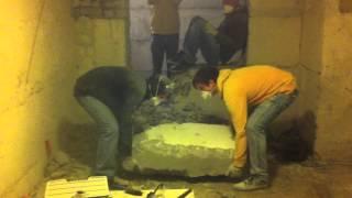 Klubi ehituse amatöörvideo amatöörnaljadega