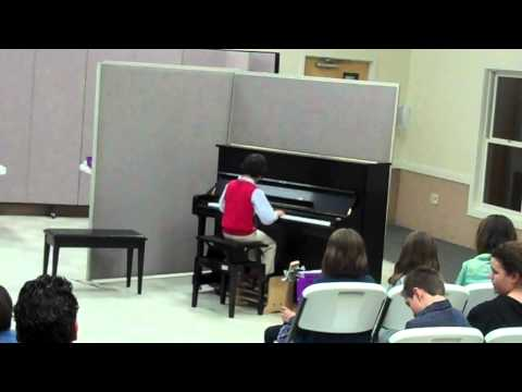 Lucas Tomas - piano recital Shaker Road School