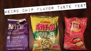 NWN: Weird Chip Flavor Taste Test